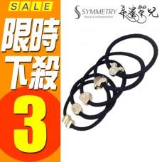 髮圈 髮束 韓版造型電鍍髮圈 韓版金屬造型髮束 髮帶 熱銷 髮箍 運動健身 (隨機出貨)