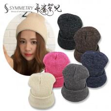 韓國 韓版毛帽 素色 糖果色 秋冬超保暖單色 毛帽 超柔軟 百搭 毛線帽 【希蜜翠兒】