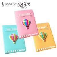 韓版熱氣球護照包 旅行 短夾 證件包 護照包 護照夾 旅遊 收納包 皮夾 信用卡包 卡夾 證件夾